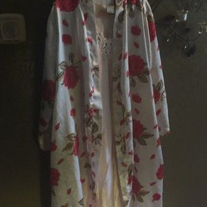 Other - 2 pieces nightgown and peignoir set